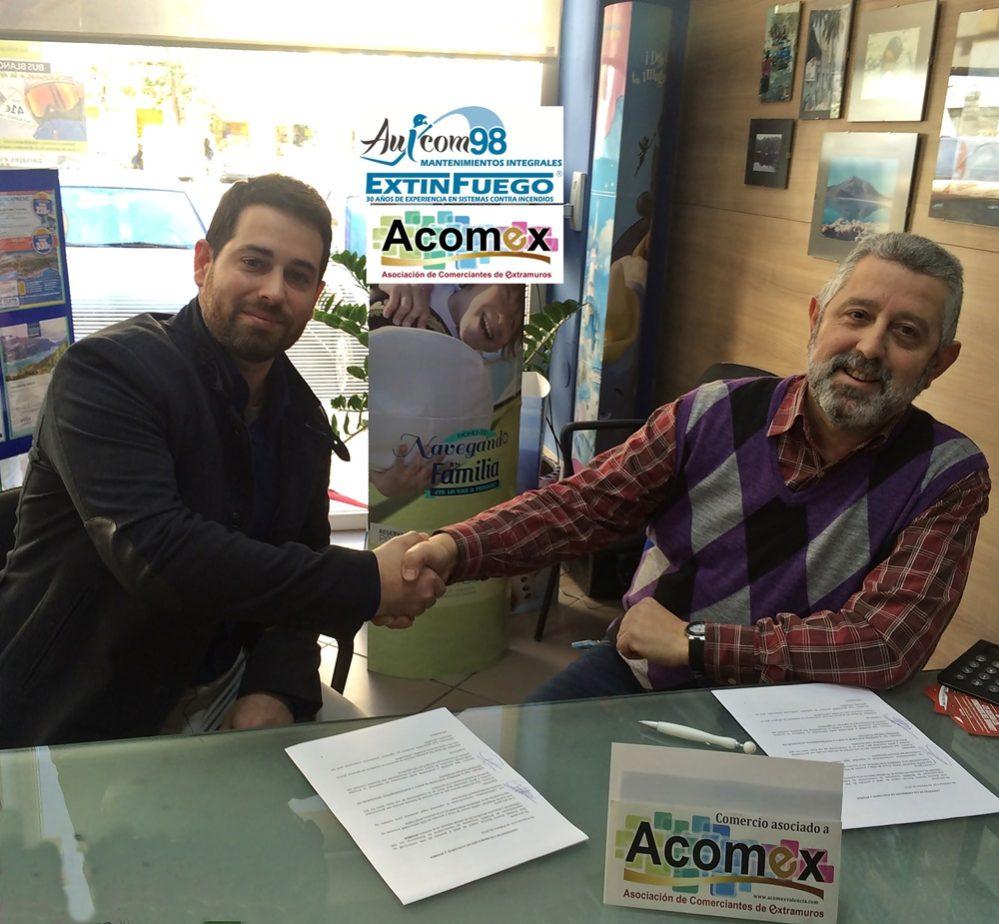 ACOMEX ha firmado recientemente un Convenio deColaboración con ACUXCOM 98, S.L. Una empresa dedicada al mantenimiento e instalación de sistemascontraincendios. Su dilatada experiencia y profesionalidad en un sector tan importante como…