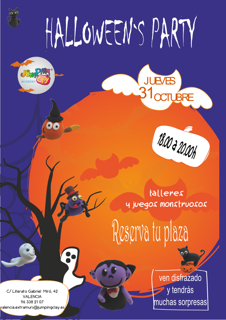 ¡No te pierdas la fiesta de Halloween más creativa!  Ven a pasarlo bien y a crear un minion muy terrorífico.  El próximo jueves 31 de Octubre de 18 a 20h.  Reserva tu plaza…